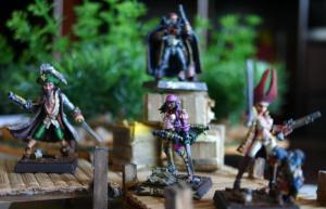 Freebooters Fate, bemalt, Miniatur, Tabletop, Gruppenbild