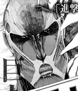 Attack On Titan, Manga, Titanen