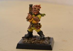 Freebooters Fate, bemalt, Miniatur, Tabletop,, Little Pete, Little Pet, kleiner Peter, Gnom