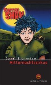 Darren Shan, Mitternachtszirkus, Bücher, Saga