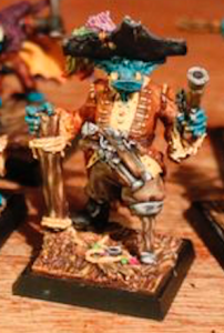 Freebooters Fate, bemalt, Miniatur, Tabletop, Gront