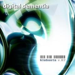 Klabusta - Digital Dementia Cover