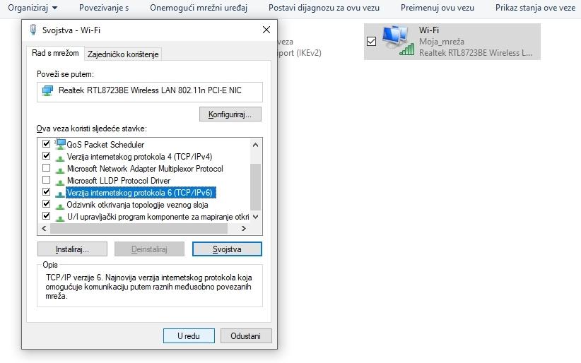 Konfiguracija Google DNS za Windows: Potvrda Google DNS postavki