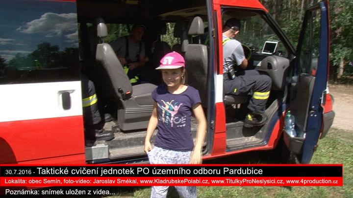 Taktické cvičení PO - obec Semín, www.KladrubskePolabi.cz Jaroslav Smékal