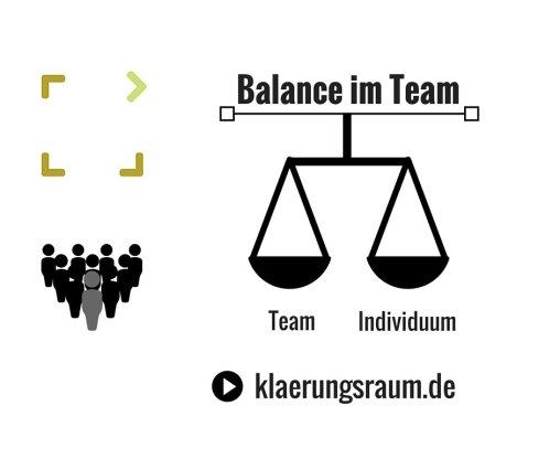 Balance im Team - In der Erhaltung der Heterogenität liegt die Chance
