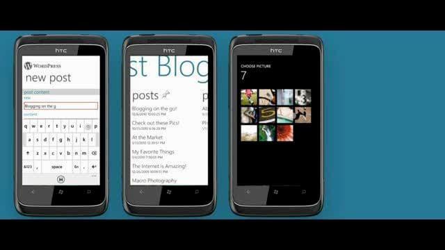 إطلاق تطبيق ووردبريس لهواتف ويندوز فون 7 1
