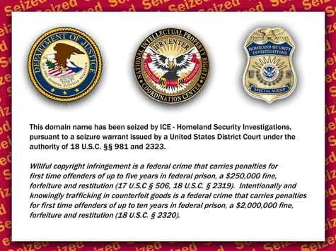 الحكومة الأمريكية تغلق موقع Torrent-Finder.com 1