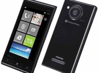 توشيبا تنضم لقائمة منتجى جوالات ويندوز فون 7 2