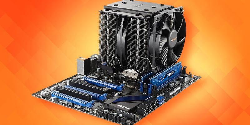 كيفية تثبيت مبرد وحدة المعالجة المركزية (CPU)