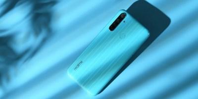 مواصفات Realme Narzo 10 بعد إطلاقه باللون الأزرق