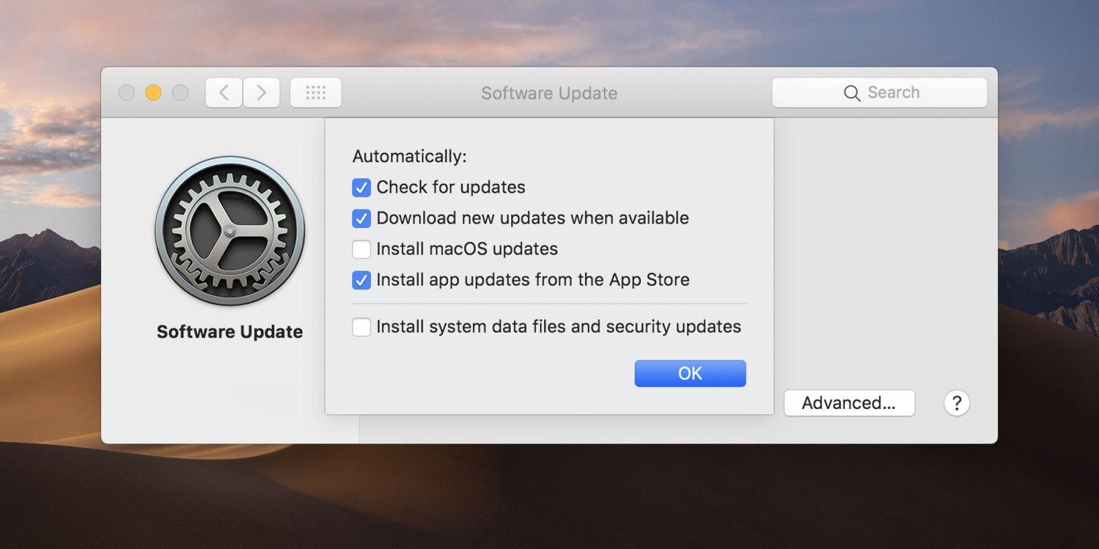 كيفية إدارة تحديثات التطبيقات في macOS
