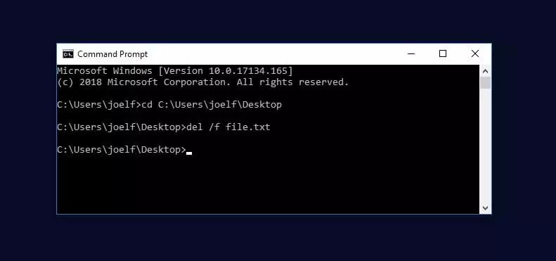 كيفية إجبار ويندوز على حذف ملف 2