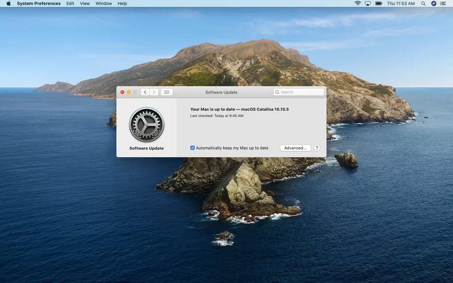 كيفية إدارة تحديثات التطبيقات في macOS 2