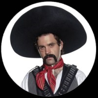 Kostme von K'n'K - SOMBRERO HUT MEXIKANISCHER BANDIT ...