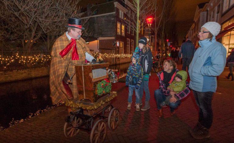 Kerst 'Dickens' Draaiorgel