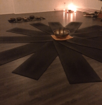 klankschaal yogamatten yoga ruimte