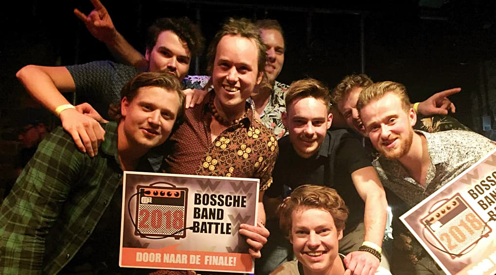 Rocky halve finale Bossche Band Battle
