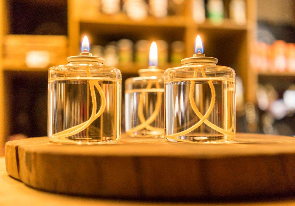 A evolução das velas