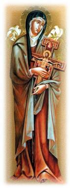 Ikona  sv. Klara