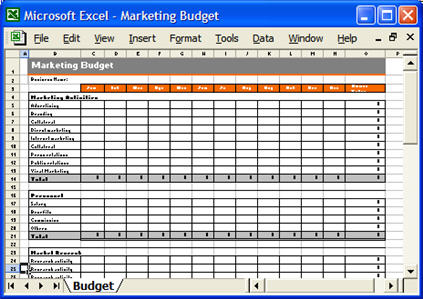 Marketing budget plan templates free, marketing automation ...