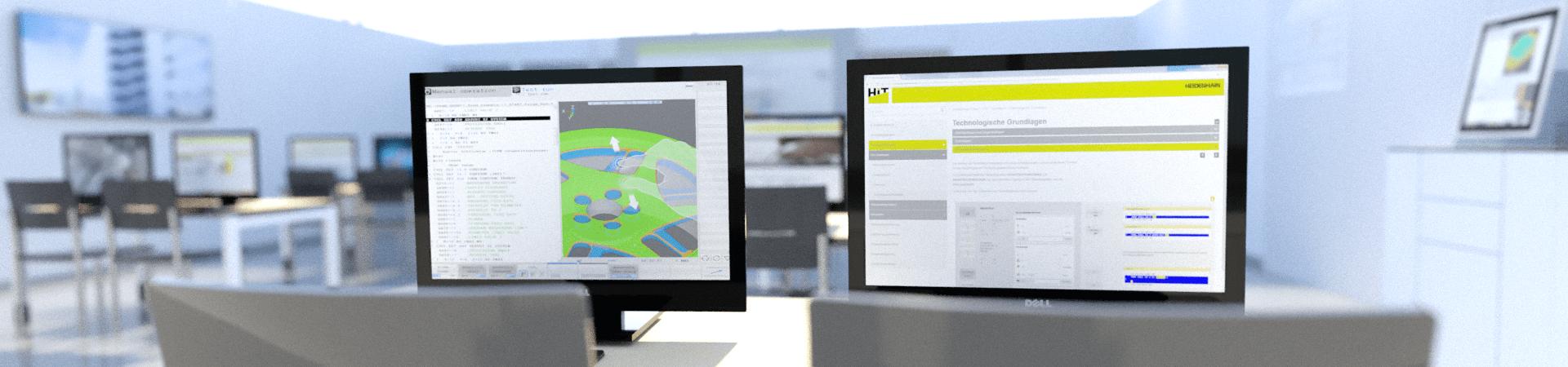 hight resolution of hit heidenhain interactive training