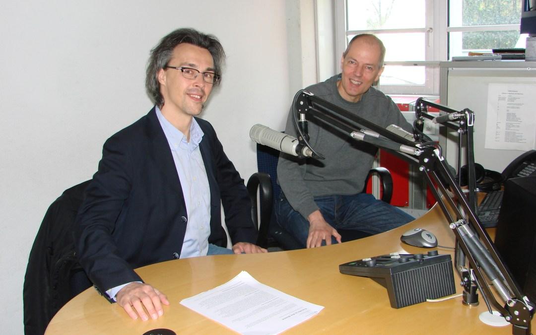 Dr. Klaus-Dieter Kieslinger in ORF-Radio-Salzburg