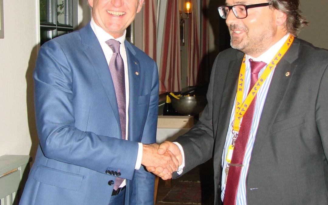 Lions Club Hohensalzburg: Schlüsselübergabe an neuen Präsidenten