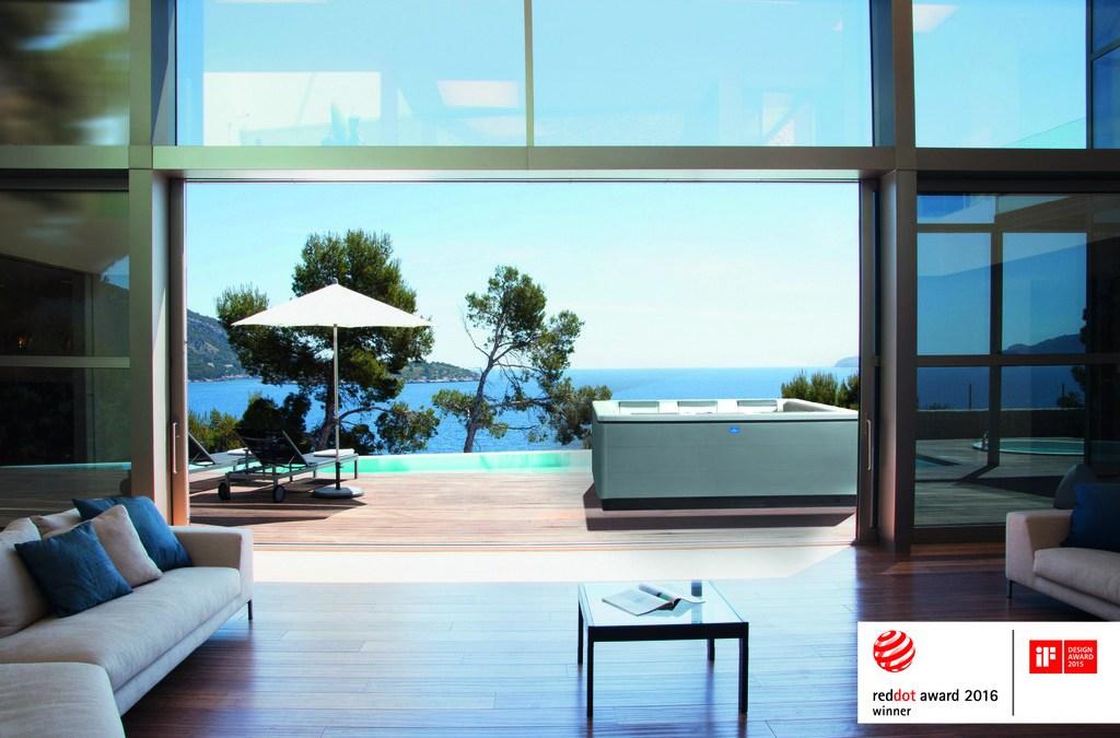 Spa-Vergnügen mit Außenwhirlpools von Villeroy & Boch