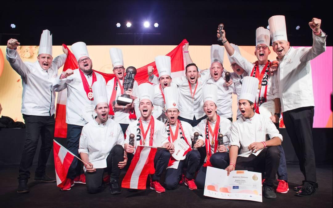 Österreichs Jugendnationalteam der Köche ist Weltmeister!