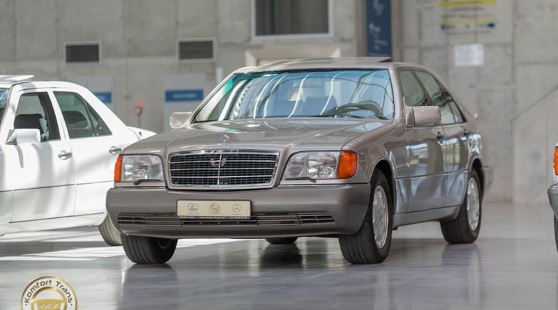 Mercedes-Benz W140 300SE Orijinal, ama gerçekten!