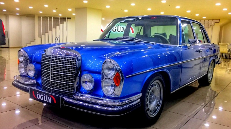 1972 W108 Mercedes-Benz 280SE 3.5 V8 USA Versiyon – SATILDI