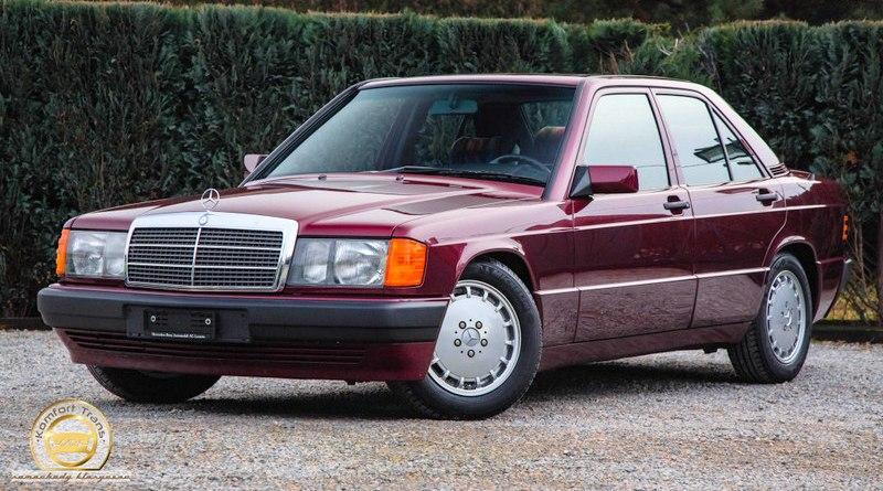 1993 Mercedes Benz W201 190E 1.8 Avantgarde Rosso