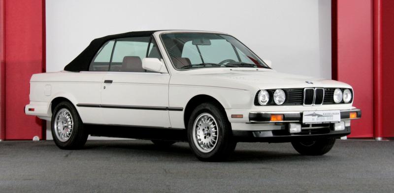 3700 Kilometrede 1987 E30 Bmw 325i Cabriolet Amerikan Versiyon