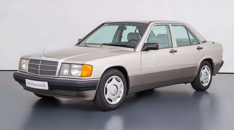 W201 Mercedes-Benz 1989 190E 2.0 Sadece 27 Bin Km.de!