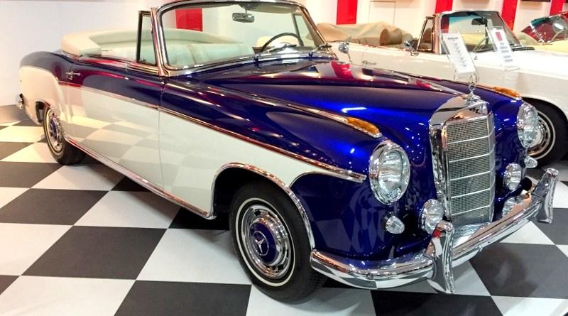 İzmir Key Museum'dan 1959 W180 II Mercedes-Benz 220S Cabriolet Tarihçesi