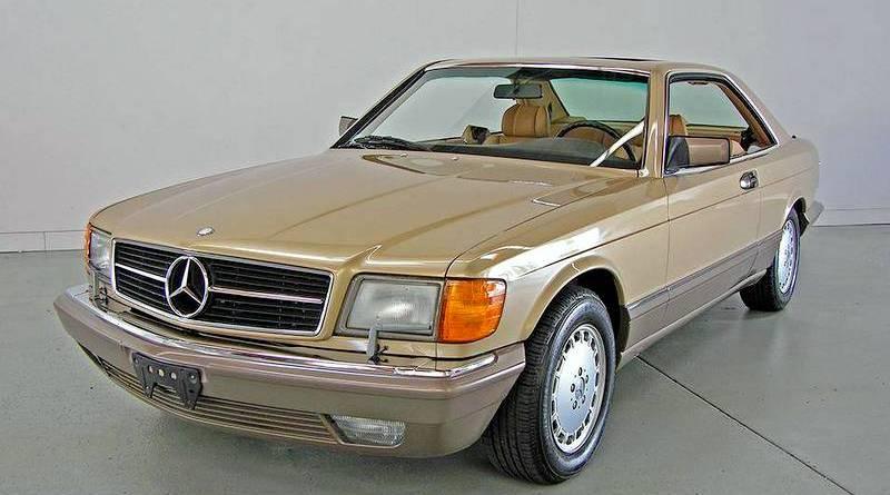 Sadece 10 Bin Milde! 1986 C126 Mercedes-Benz 560SEC Amerikan Versiyon