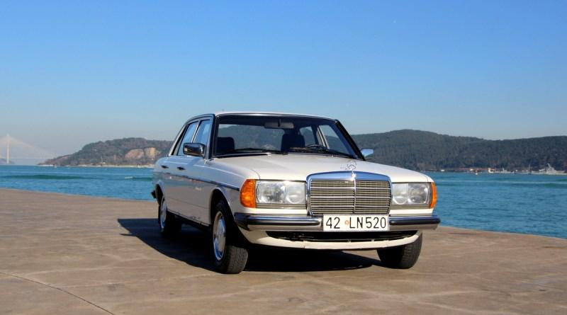 Satılık Orijinal 57 Bin.de Boyasız 1984 W123 Mercedes-Benz 200D