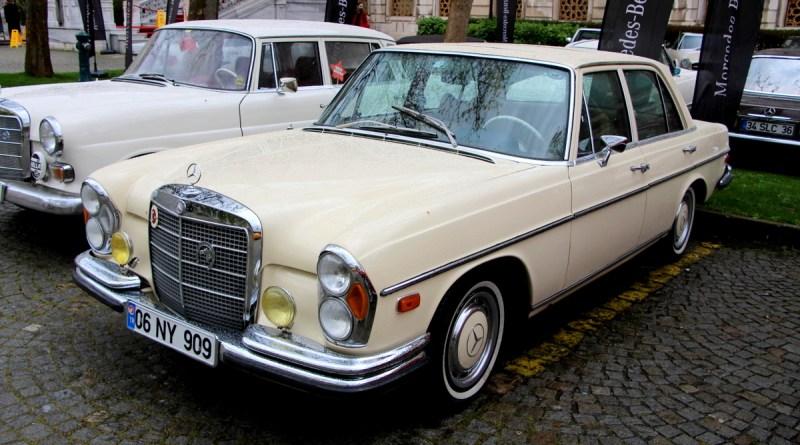 5. Mercedes-Benz Bahar Rallisinden Bir Güzel 1972 W108 Mercedes-Benz 280S