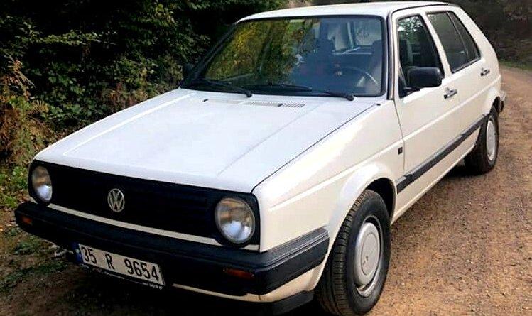 Satılık 26 Bin Km.de! 1990 VW Mk2 Golf GL