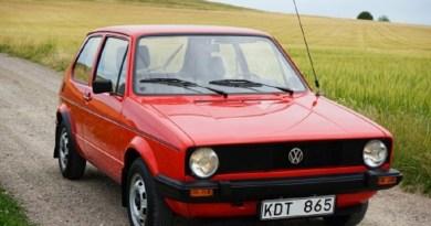 VW Golf Mk1 Boyasız 15 Bin Km.de!