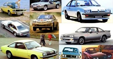 Opel Manta Tarihçesi