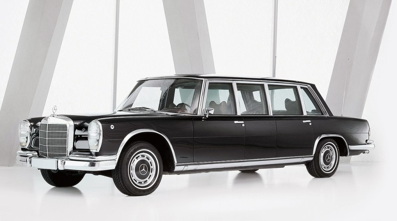 Mercedes-Benz 600 W100 Tarihçesi