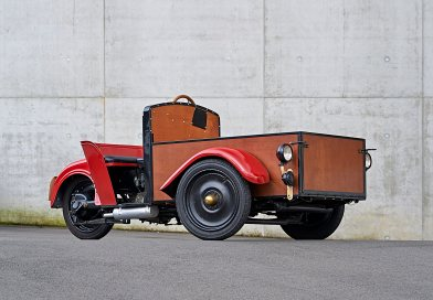 Üç Tekerlekli Teslimat Aracı 1932 BMW F76 & F79