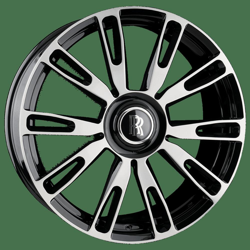 KlasseniD-Wheels-Forged-Monoblock-M20Q-two-tone-brushed-face-gloss-black-lip-machined-for-oe-rolls-royce-floating-centercap