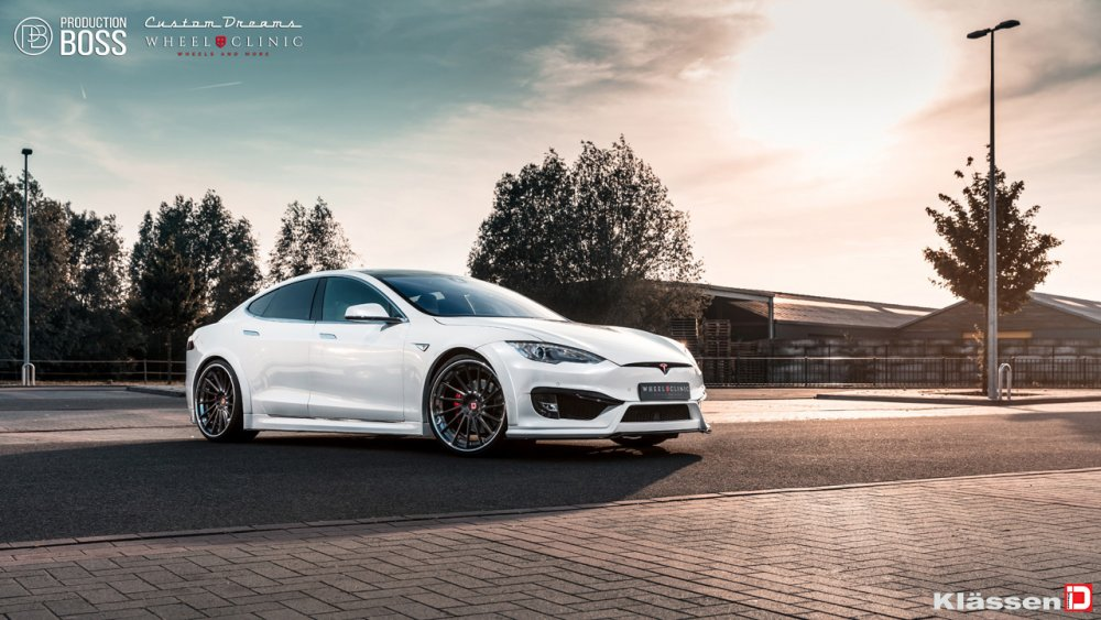 KlasseniD Wheels – Tesla Model S Revosport Widebody CS15D