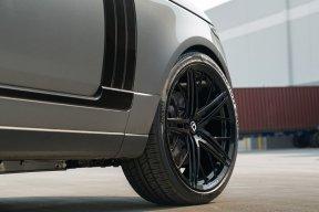 Range Rover HSE KlasseniD Wheels M53R Matte Black Face Gloss Black Windows 10