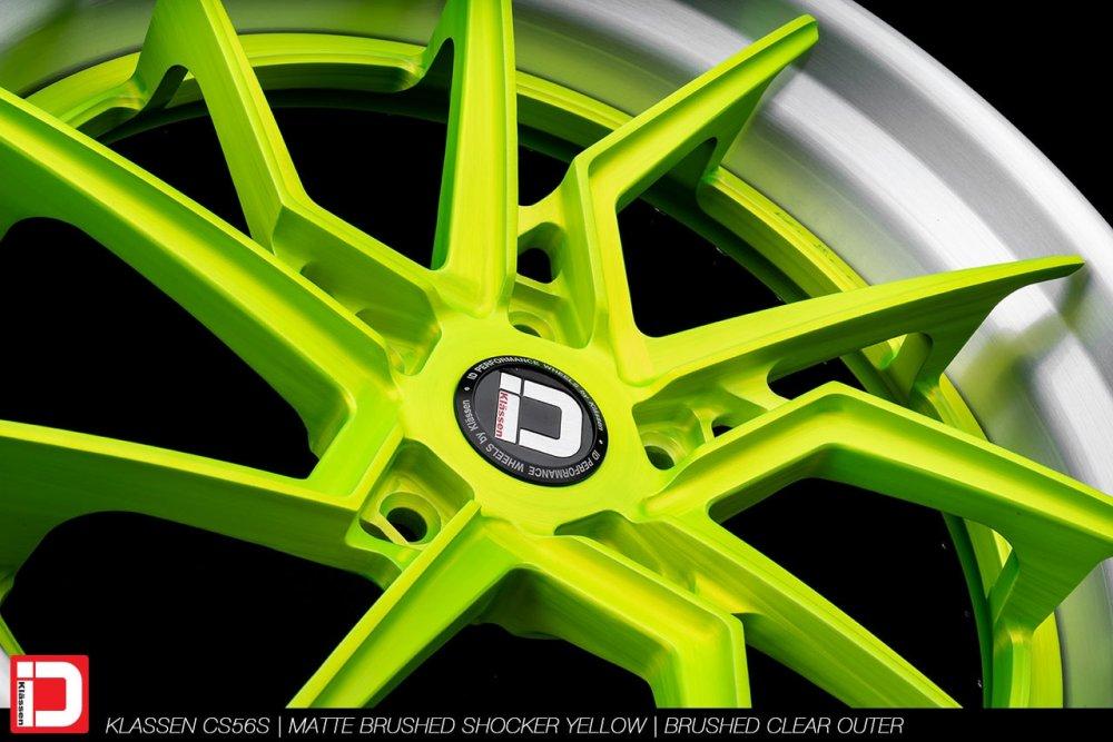 klassenid-wheels-klassen-cs56s-matte-brushed-shocker-yellow-face-brushed-clear-lip-5-min