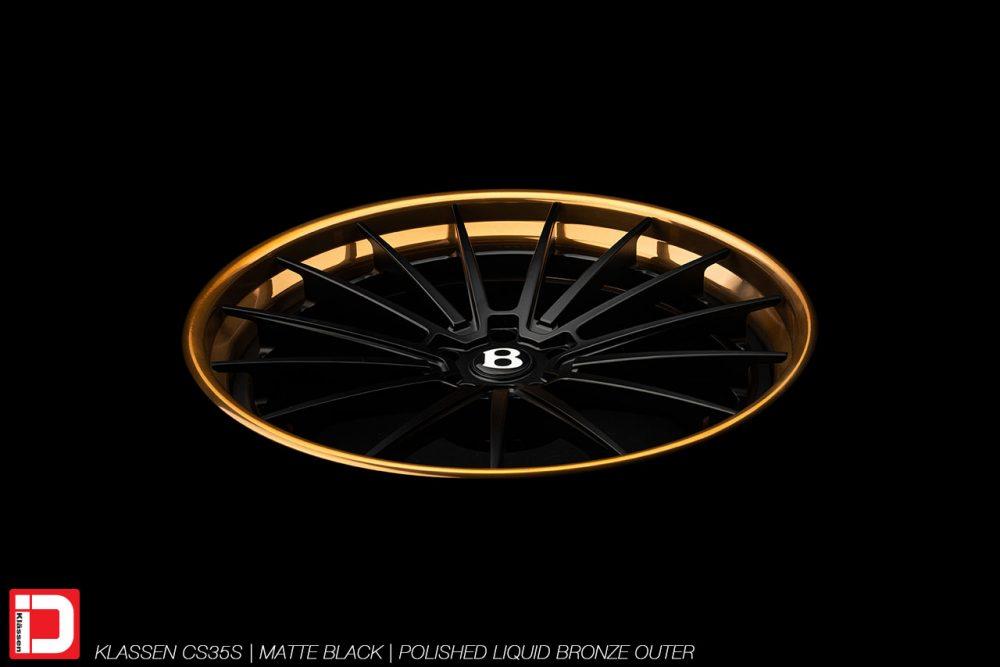 KlasseniD Wheels – CS35S Matte Black
