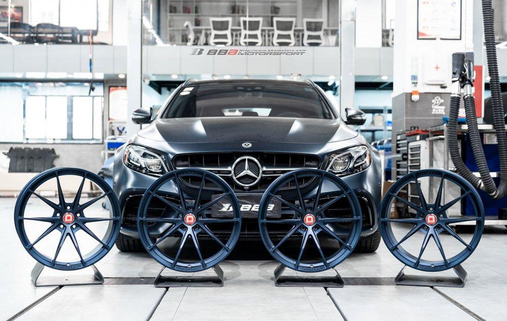 Mercedes-Benz E63 AMG Estate | KlasseniD Wheels MS03
