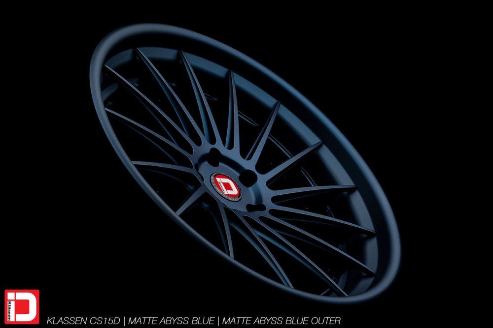 KlasseniD Wheels – CS15D Matte Abyss Blue